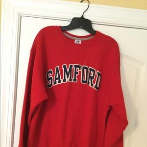 Tops - Red Samford University sweatshirt